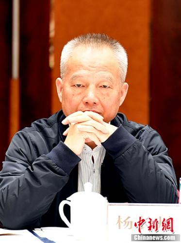 3月5日,杨长风参加澳门太阳城科学技术协会界别讨论。中新社记者 于海洋 摄