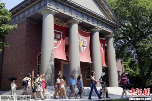 资料图片:哈佛大学校园