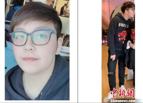 警方公布的22岁受害人Wanzhen LU的照片。 余瑞冬 摄