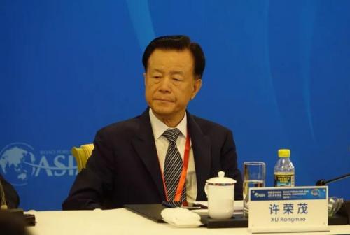 图为世贸集团董事局主席许荣茂 周欣嫒/摄