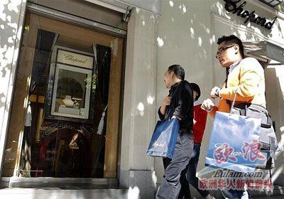 资料图:中国游客 图片来源:西班牙欧浪网