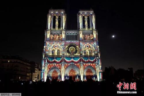 巴黎圣母院昔日风采。图片来源:中国新闻网