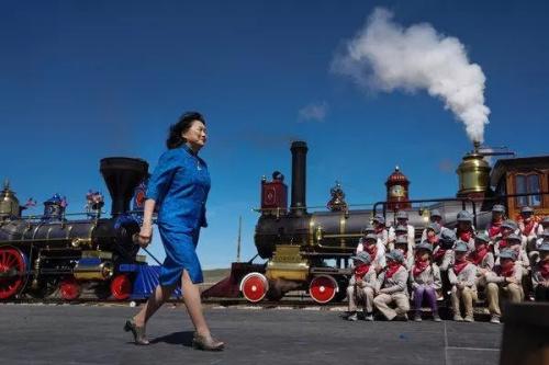 旧金山的作家、美国华人历史学会的历史学者虞容仪芳(《纽约时报》网站)
