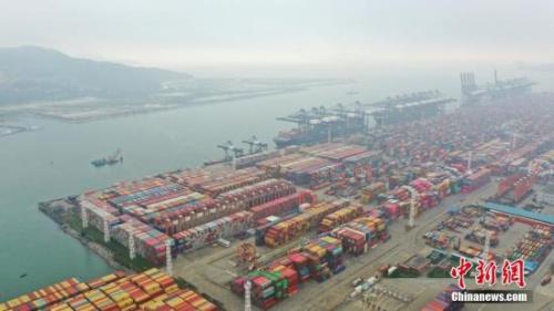 资料图:深圳盐田国际集装箱码头。<a target='_blank' href='http://www.chinanews.com/'>中新社</a>记者 陈文 摄