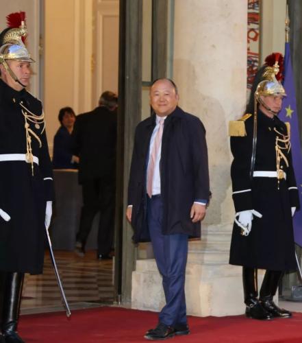 法国国民议会议员、法中友好小组主席陈文雄。(图片来源:欧洲时报记者黄冠杰 摄)