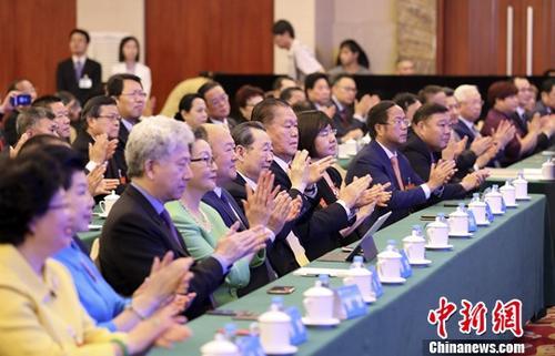世界华侨华人社团联谊大会是全球华侨华人主要社团联谊交流的重要平台,自2001年以来,已连续举办九届。中新社记者 毛建军 摄