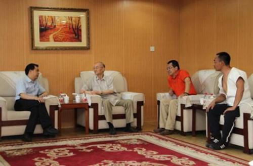 座谈会现场。(图片来源:中国华文教育基金会网站)