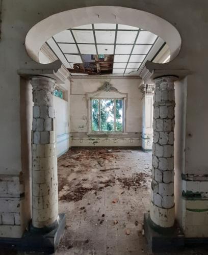 别墅每处的设想皆具有特征,留下潦攀历史的代价。(马去西亚《星洲日报》/陈文强 摄)