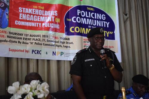 拉各斯州警察局局长CP Zubairu H. Muazu mni致辞