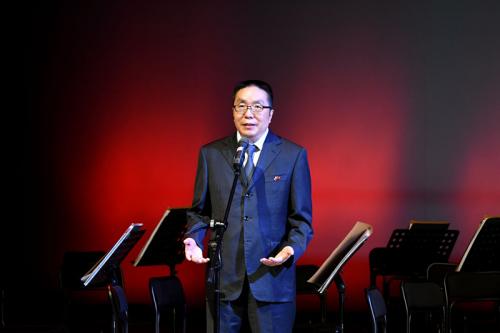 中领馆举行庆祝新中国成立和中俄建交70周年音乐会