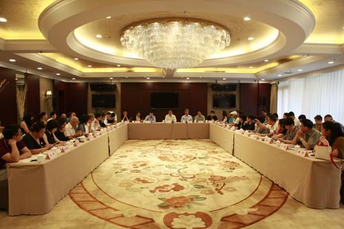 39家海外承办机构代表在京座谈。贾广超 摄