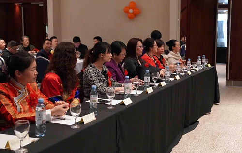 阿根廷华侨华人妇女联合总会成立 中使馆致贺