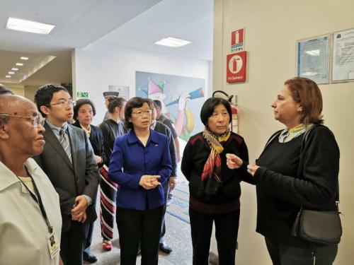 图片来源:中国驻圣保罗总领馆网站