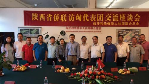 陕西省侨联代表团访问匈牙利 与侨界座谈觅商机