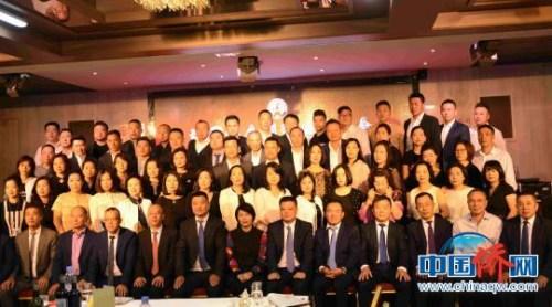 法国华人服装业总商会成立20周年会庆活动当地时间6日晚在巴黎举行。 李洋 摄