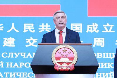 梅利尼科夫主席致辞