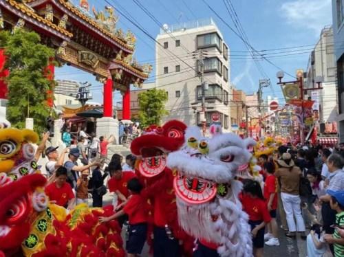 日本中文导报:70醒狮劲舞 在日华侨华人硬核表白庆新中国70华诞