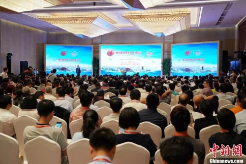 资料图:第※九届世界华文传媒论坛在福州市开幕。中新社记♀者 毛建军 摄