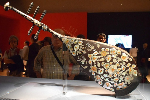 日本将办文物展 华人音乐家演奏复原唐朝古乐器