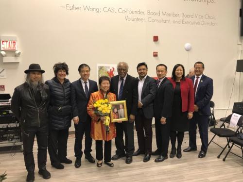 芝加哥华埠老人公寓重命名 纪念创建者对华埠贡献