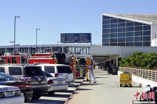 图为洛杉矶机场。