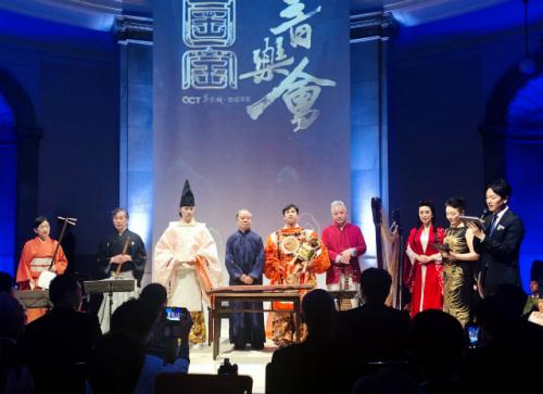 """""""国宝音乐会""""在东京举办,多位中日艺术家联袂演出。(日本《中文导报》/杨文凯 摄)"""