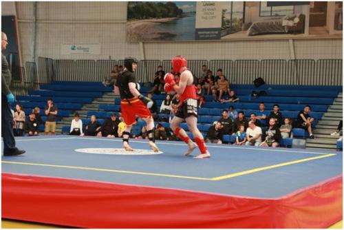 新西兰举行中囯元素武术锦标赛 260多位运动员参加