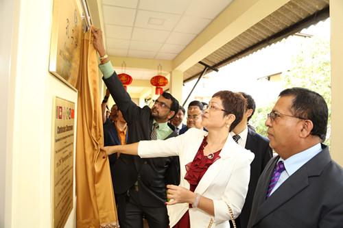 图片来源:中国驻斯里拉卡大使馆网站