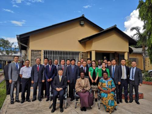 图片来源:中国驻赞比亚大使馆网站。