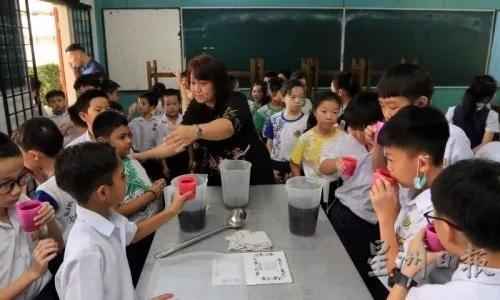 马来西亚芙蓉振华小学。(马来西亚《星洲日报》/李祝福 摄)