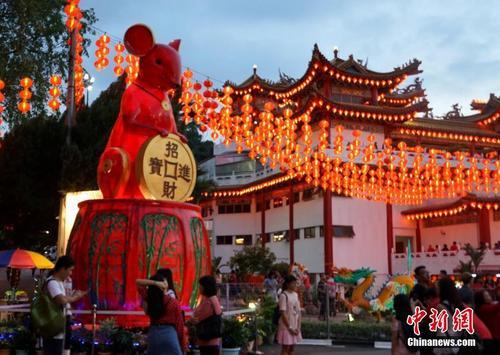 马来西亚吉隆坡春节年味浓