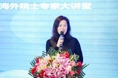 北京市委统战部侨务事务处处长李晓菲致辞