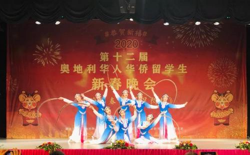 舞蹈《京韵》。(图片来源:中国驻奥地利大使馆微信公众号)