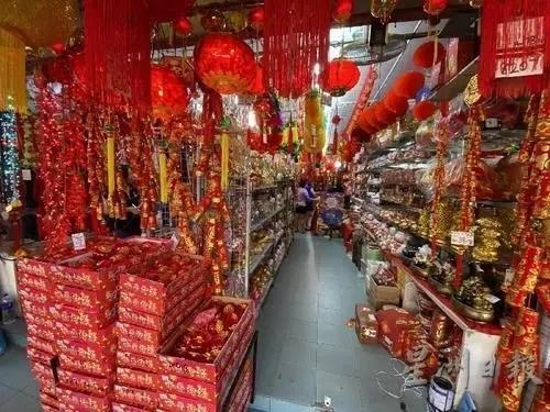 年货市场。(马来西亚《星洲日报》 范纯玮 摄)