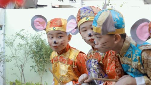 马来西亚砂拉越州美里中华公学《老鼠娶亲》