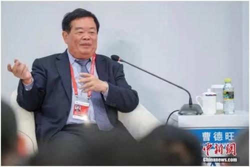 资料图:中国侨商联合会荣誉会长、福耀集团董事长曹德旺。