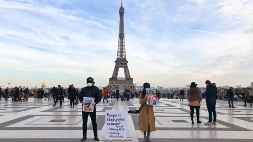 """图片来源:《欧洲时报》法国版微信公众号""""想法"""""""