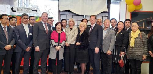 加拿大三级政府官员与华社会晤谈疫情,华人企业商家抱怨业绩大降。