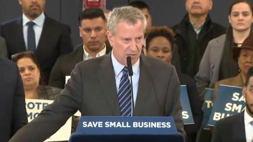 2月20日,纽约市长白思豪(Bill de Blasio)宣布扩大对小商业的救济。纽约市长办公室