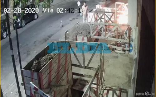 阿根廷布省一家華人超市遭遇威脅。(阿根廷華人網)