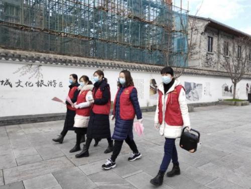 浙江临海市古城侨联开展对海外侨胞防疫宣传工作