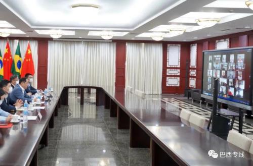 中国驻巴西使领馆就疫情防控同侨界在线交流