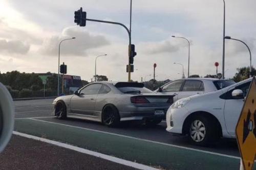 被盗车辆。(新西兰天维网 Skye 供图)