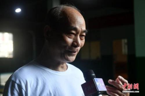 福建省武术协会鸣鹤拳研究会会长余丹秋。吕明 摄