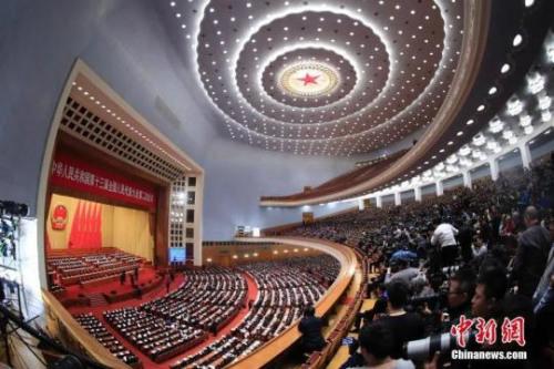 资料图:北京人民大会堂。<a target='_blank' href='http://www.chinanews.com/' _fcksavedurl='http://www.chinanews.com/' _fcksavedurl='http://www.chinanews.com/'>中新社</a>记者 杜洋 摄