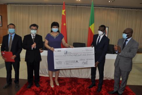 图片来源:中国驻贝宁大使馆网站
