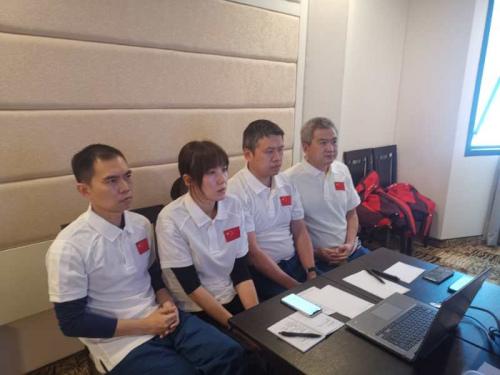专家组的四名医生。(图片来源:秘鲁《公言报》)