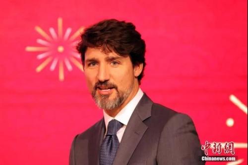 资料图:加拿大总理贾斯廷·特鲁多。<a target='_blank' href='http://www.chinanews.com/'>中新社</a>记者 余瑞冬 摄