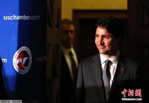 资料图:加拿大总理特鲁多。
