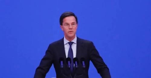 资料图:荷兰首相吕特。中新社记者 杜洋 摄